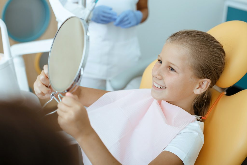 Treat bad teeth and snow-white smile after procedure